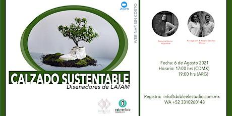 Calzado Sustentable entradas