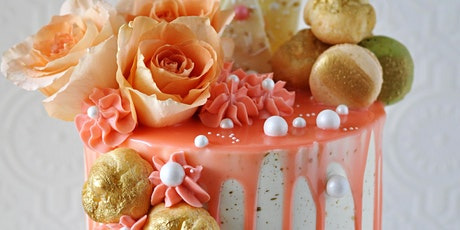 Cake Decorating Class: Sharp & Smooth Buttercream Cake Class tickets