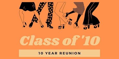 CHSW Class of 2010 Reunion tickets