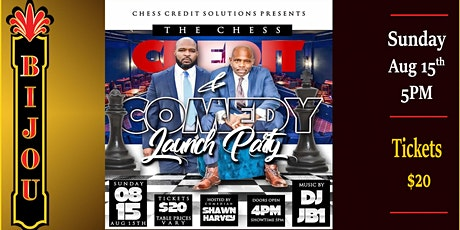 The Chess Credit & Comedy Launch Party tickets