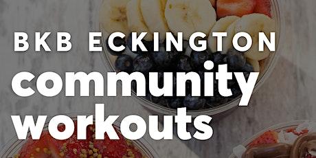 Community Movement Free Workouts! tickets