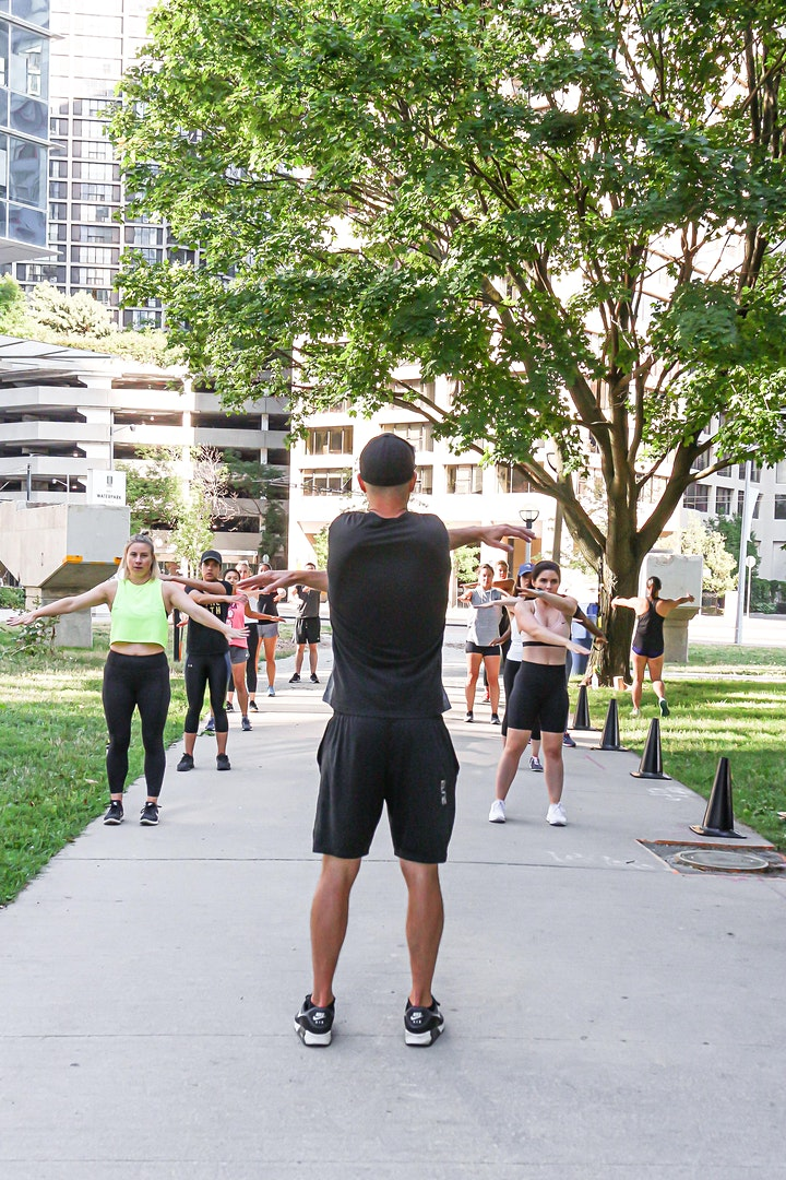 FREE Outdoor Workout with Josh Broun image