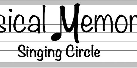 Musical Memories Singing Circle tickets