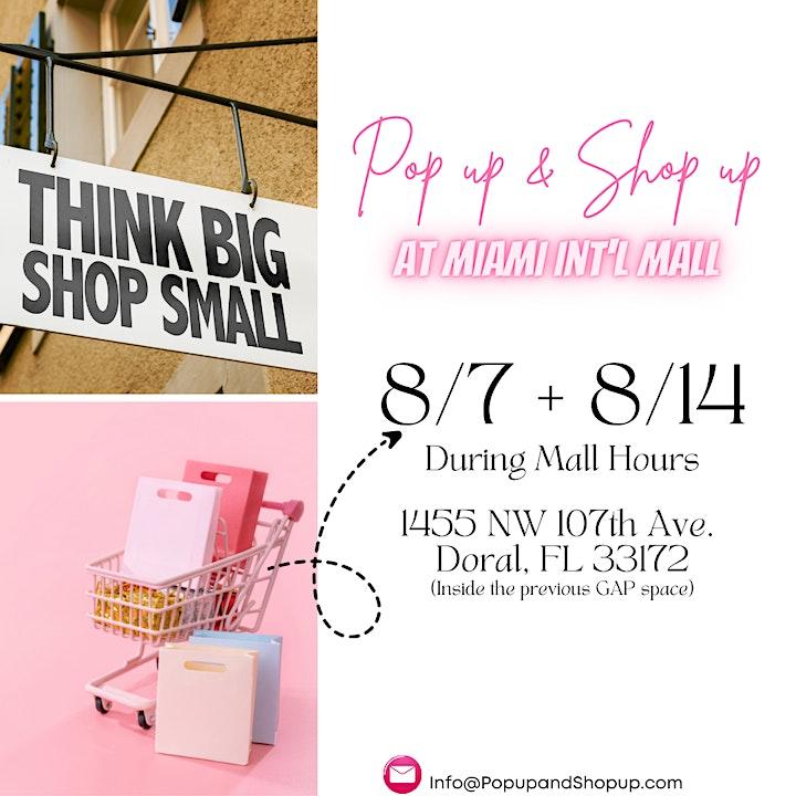 Pop up & Shop up X Miami International Mall image