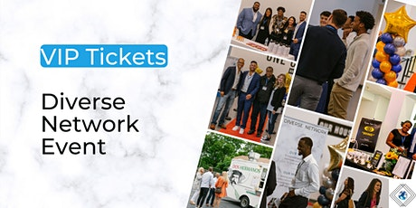 VIP Tickets - Diverse Network Event tickets
