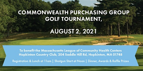 CommonWealth Purchasing Group Golf Tournament tickets