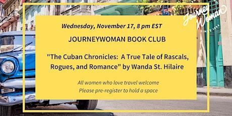 JourneyWoman Book Club: The Cuban Chronicles tickets