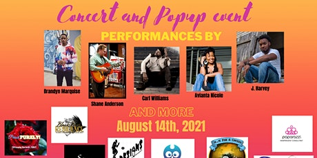 Back to school concert and pop up tickets