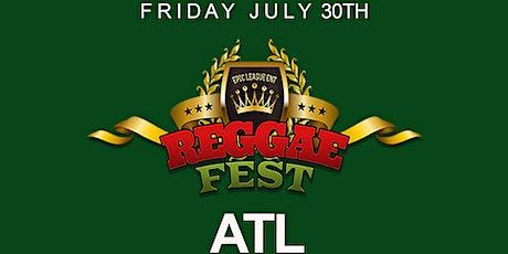 Reggae Fest  ATL Dance Hall Vs. Soca at Believe Music Hall tickets