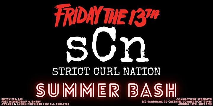 Strict Curl Nation Summer Bash image