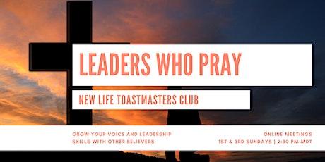CHRISTIAN LEADERSHIP DEVELOPMENT | New Life Toastmasters tickets