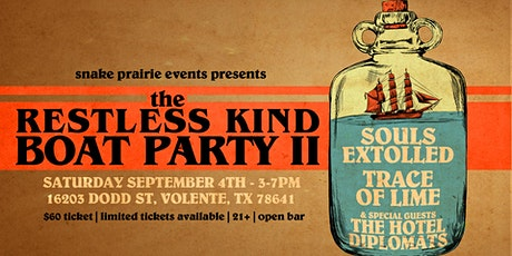 The Restless Kind Boat Party II tickets