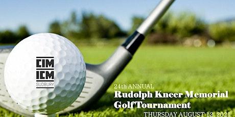CIM Sudbury Branch - Golf Tournament tickets