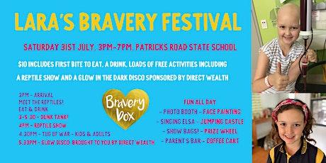 Lara's Bravery Winter Festival tickets