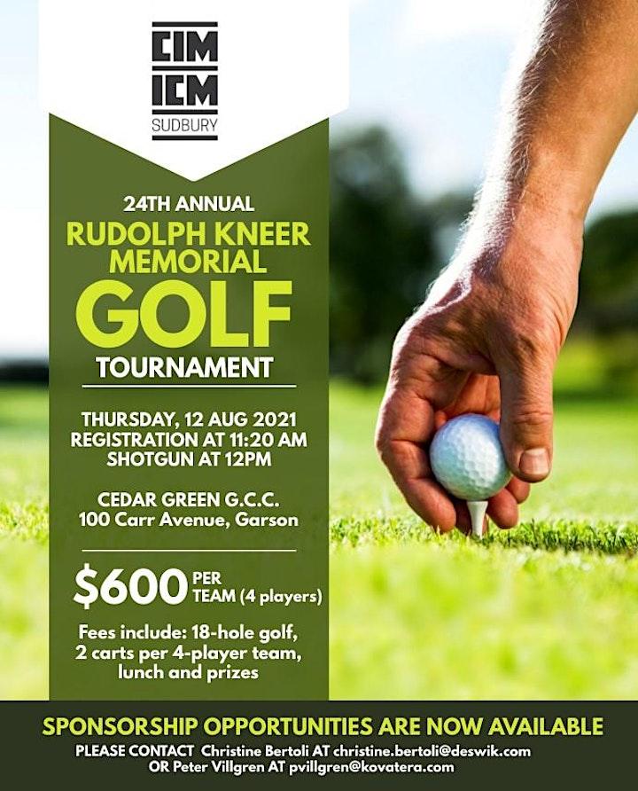 CIM Sudbury Branch - Golf Tournament image