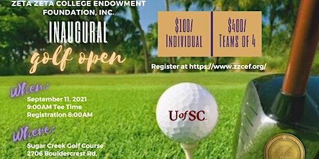 Zeta Zeta College Endowment Foundation Inaugural Golf Open tickets