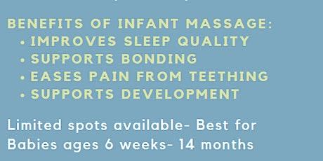 PAT Infant Massage biglietti