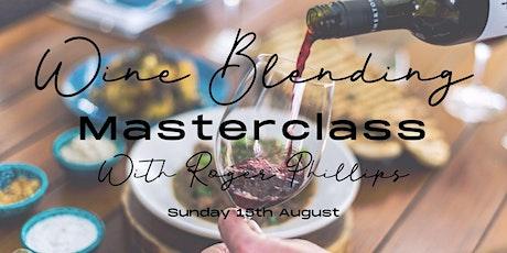 Wine Blending Masterclass tickets