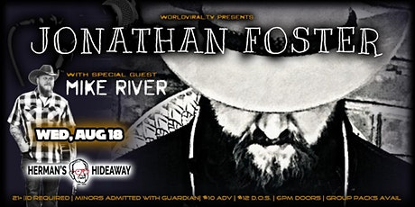 JONATHAN FOSTER  w/ special guest: MIKE RIVER (Early Show 6pm) tickets