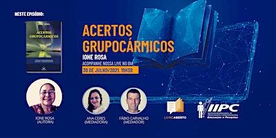 LIVE – Livro Aberto: Acertos Grupocármicos