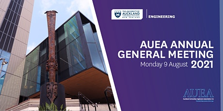 AUEA  - Annual General Meeting 2021 tickets