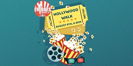August First Friday- Hollywood Walk tickets