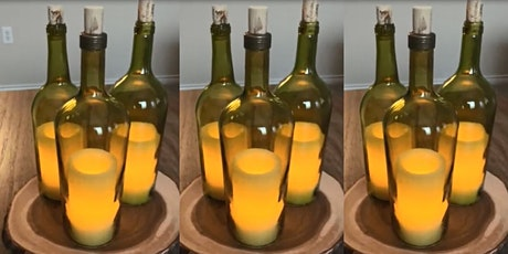 Learn How To Cut Wine Bottles at Alex Anthony Vineyards in Johnson City TX tickets