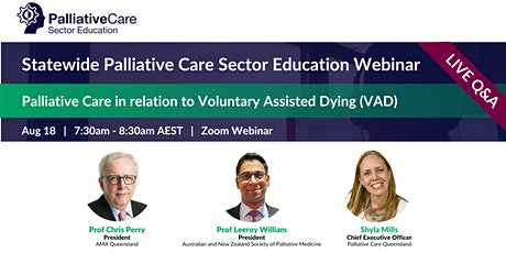2021 Statewide Palliative Care Sector Education   Aug 18 tickets