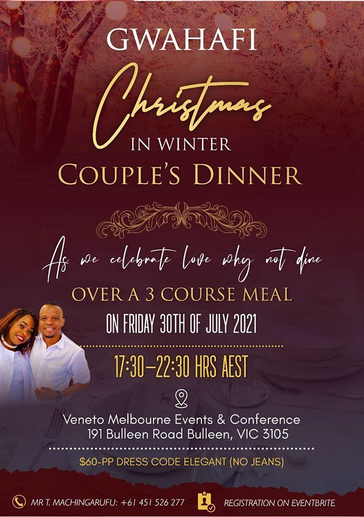 GWAHAFI - Christmas in Winter Couple's Dinner image