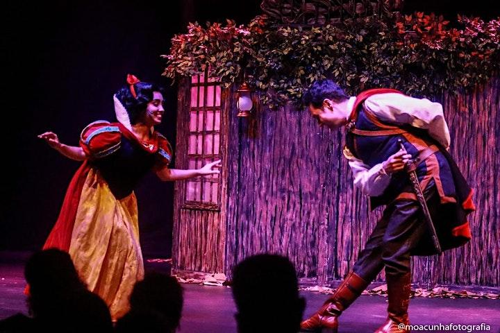 Imagem do evento Desconto para Branca de Neve, O Musical, no Teatro Gazeta