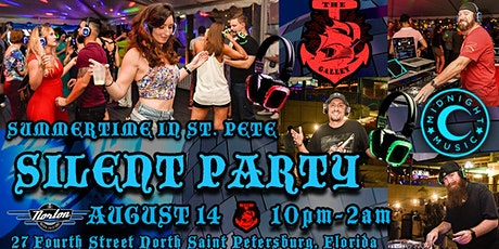 Summertime in DTSP Silent Party tickets