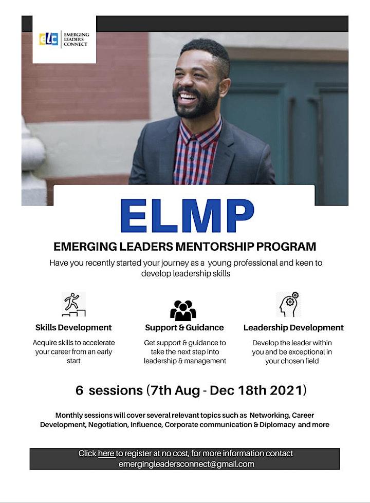 Emerging Leaders Mentorship Program image