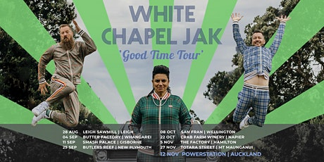 White Chapel Jak @ New Plymouth tickets