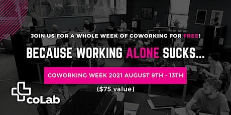 Coworking Week 2021 (International Coworking Day Celebration) tickets