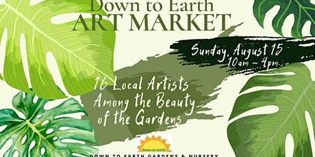 Down to Earth Art Market tickets