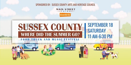 Sussex County 'Where Did Summer Go?' Food Truck and Music Festival tickets