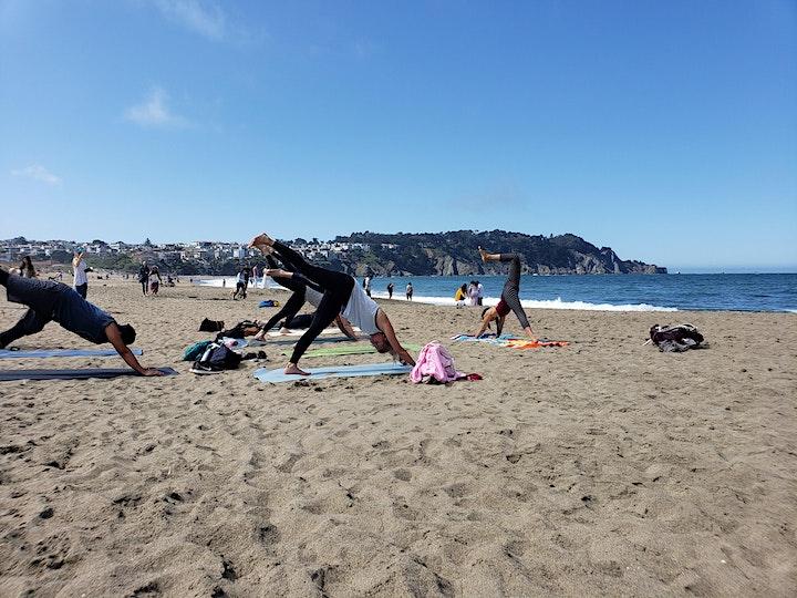 Baker Beach Yoga and Hike in SF image