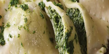 Homemade Spinach Ravioli -2 fillings tickets