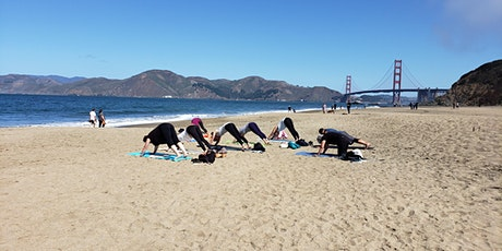 Baker Beach Yoga and Hike in SF tickets