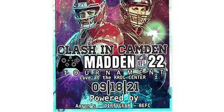 Clash in Camden Madden 22 tournament tickets
