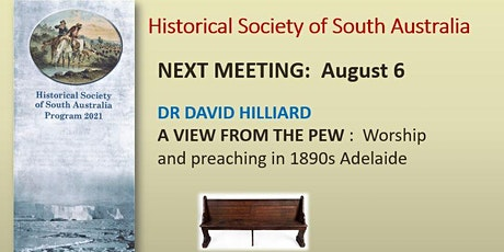 A View from the Pew : Worship and Preaching in 1890s Adelaide tickets