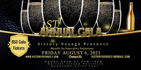 Victory Voyage 1st Annual Gala - A Benefit for Innovative Soulutions tickets