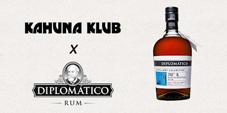 Kahuna Klub x Diplomático Rum tickets