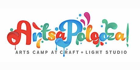 ArtsaPolooza! Summer Camp Week 2: 3rd-5th Grade tickets