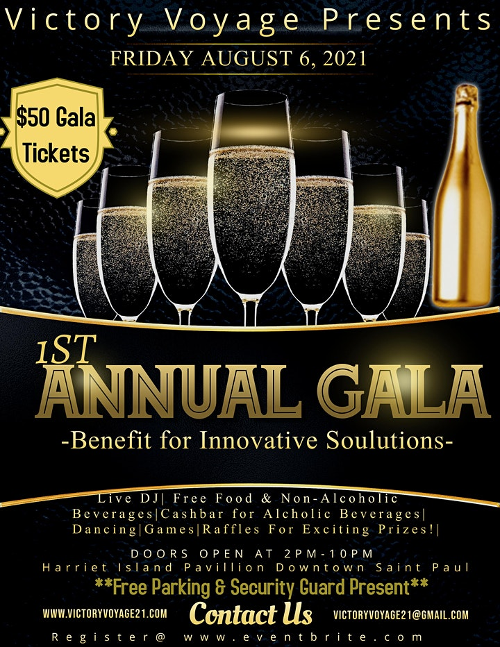 Victory Voyage 1st Annual Gala - A Benefit for Innovative Soulutions image