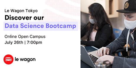 Online Open Campus - Discover our Data Science Bootcamps Tickets