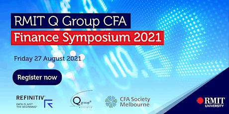RMIT Q Group CFA Melbourne Society Finance Symposium 2021 tickets