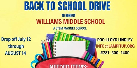 LAMP Services Appreciation/Back to School Drive tickets