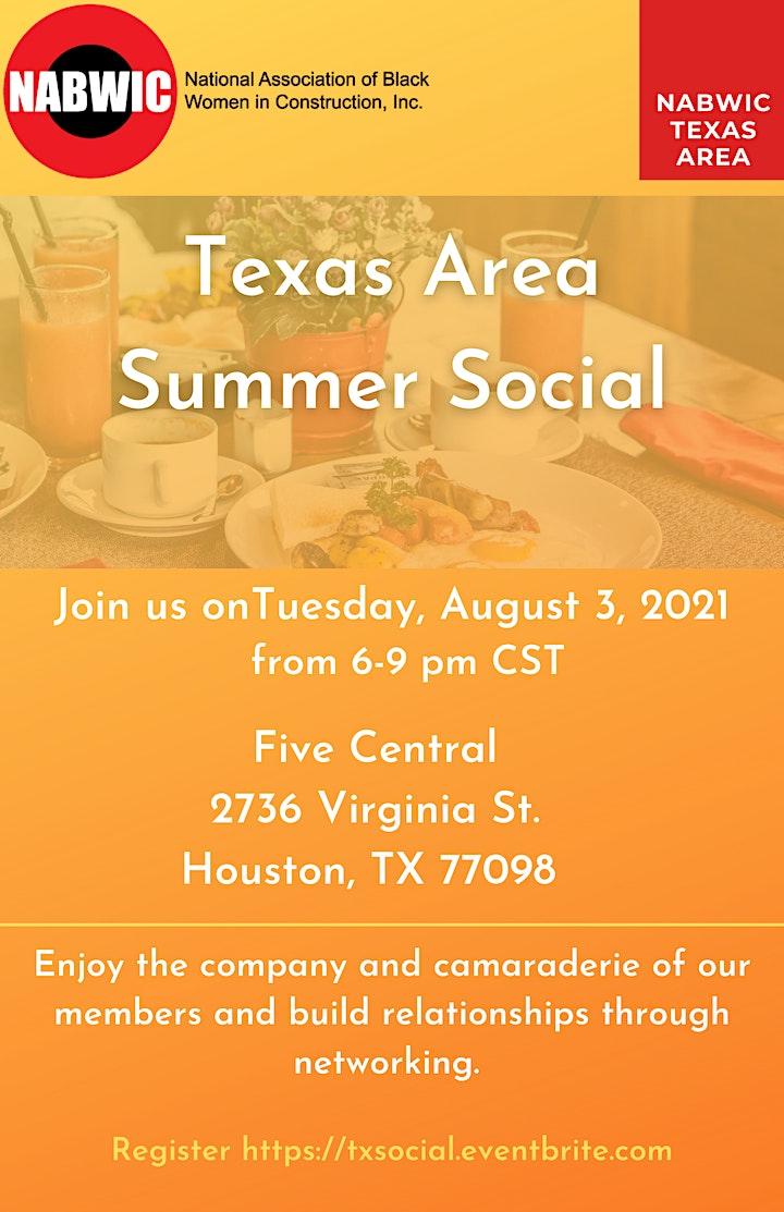 NABWIC Texas Area Summer Social image