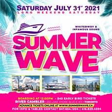 SUMMER WAVE BOAT CRUISE tickets